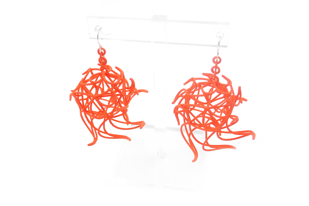 Aster Globe Earrings 4000: In Nylon $13
