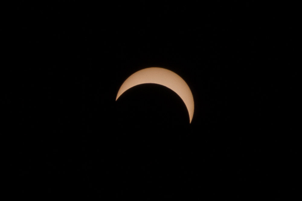 Partial Eclipse - Philadelphia August 21, 2017