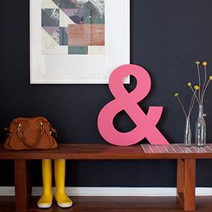 Pink Ampersand