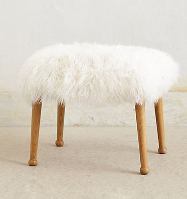 Furry Stool