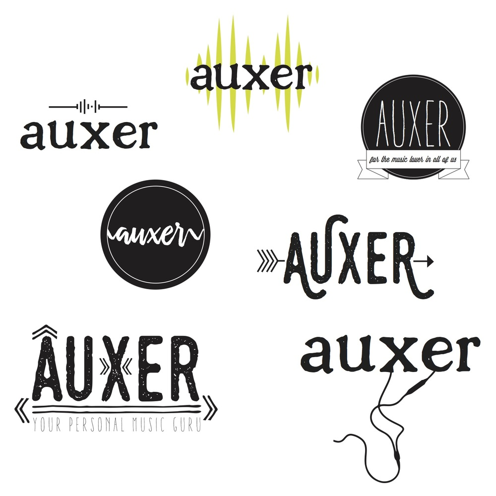 Auxer Inc. Branding + Logo Design