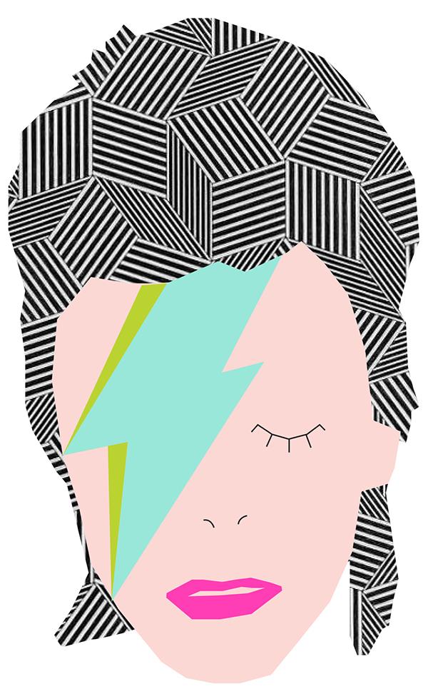 Bowiedelphia Stickers