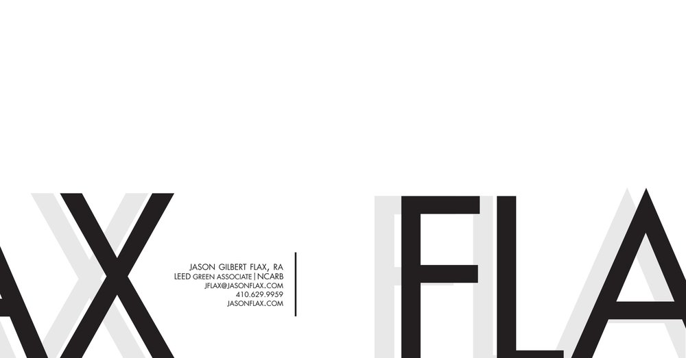 FLAX Architects Letterhead