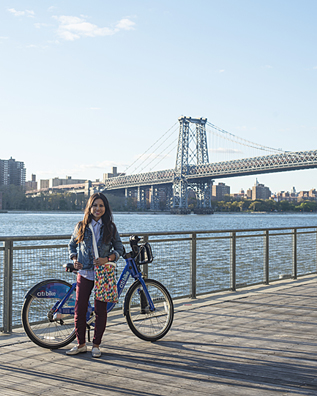 Maria visited New York City in September to experience the bike share program Citibike. Image Courtesy of  ReallyNathan