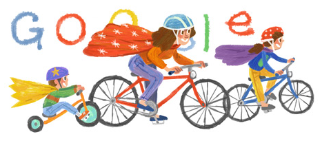 Google's charming original artwork for Mother's Day 2014