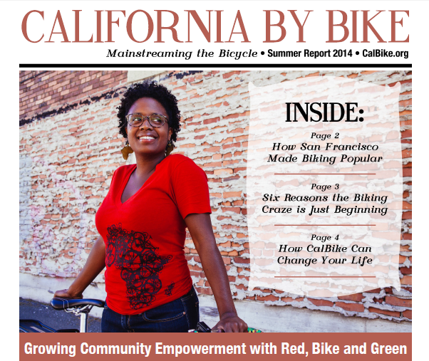 Shown above: Jenna Burton the Executive Director of Red, Bike & Green by Lisa Beth Anderson. Interview by Maria Sipin.