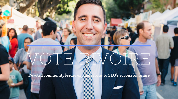 Dan Rivoire of the San Luis Obispo County Bicycle Coalition and now the SLO City Council!