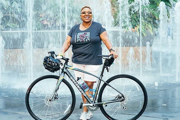 Sept '16 - Pedal Love Council Member Monica Garrison, Founder/Director Black Girls Do Bike featured in City Paper Pittsburgh