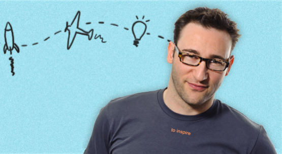 Smon Sinek, image courtesy of Start With Why