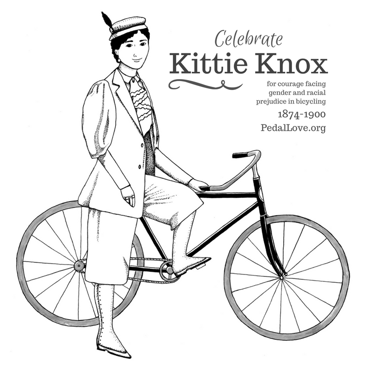 Kittie Knox has a fascinating story that I want MANY more people to know about.