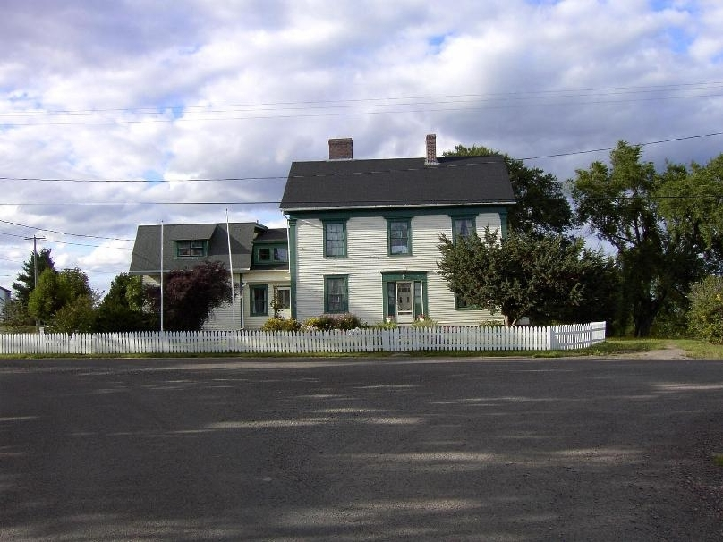 The house where William Henry Steeves, one of the Fathers of Confederation, was born in 1814. 2003 Hillsborough, New Brunswick, Canada
