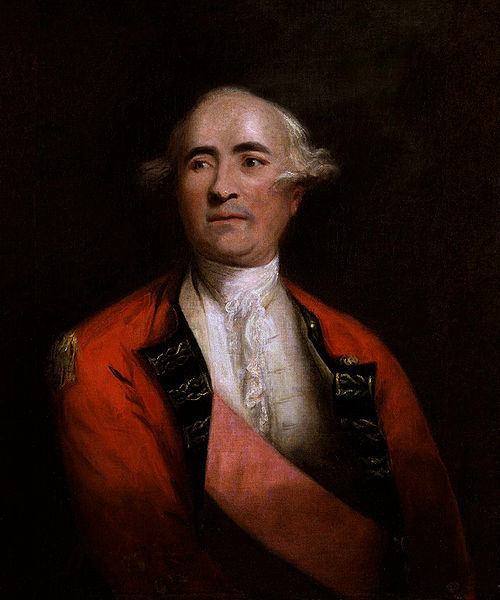 English: Oil on canvas painting of British General Sir Frederick Haldimand. See source for additional information. Date: Circa 1778 Source: National Portrait Gallery, London: NPG 4874