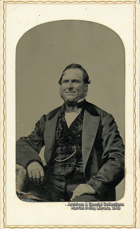 Captain David Stiles is the father of Henrietta Stiles and Grandfather of R.B. Bennett.  Captain David Stiles Circa 1850 Boston, Massachusetts, United States of America