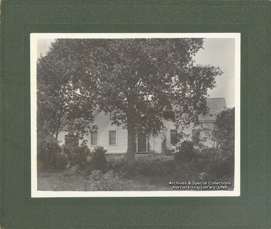 Captain David Stiles Residence, Hopewell Hill  Home of R.B. Bennett's maternal grandparents.  Circa 1900 Hopewell Hill, Albert County, New Brunswick, Canada