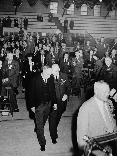 R.B. Bennett and Arthur Meighen   1927   Ottawa, Ontario, Canada