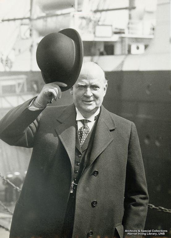 R.B. Bennett, a fond farewell Circa 1939