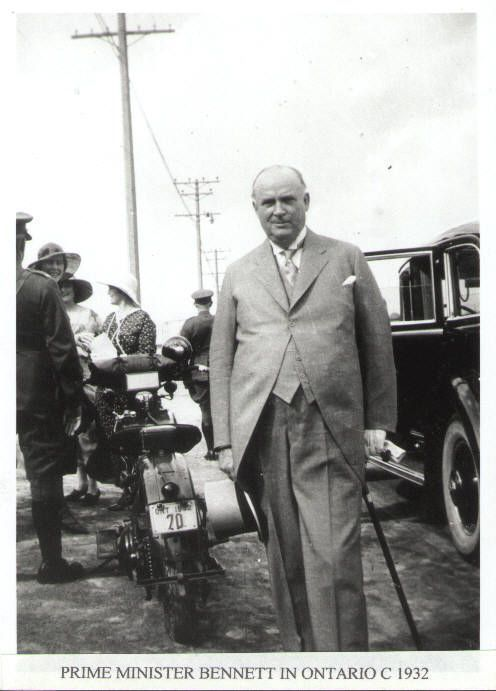 R.B. Bennett   Circa 1932