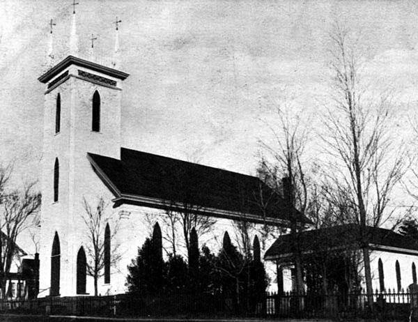 This is the previous Hillsborough First Baptist Church building that stood on the same location. It was built in 1909, I believe.