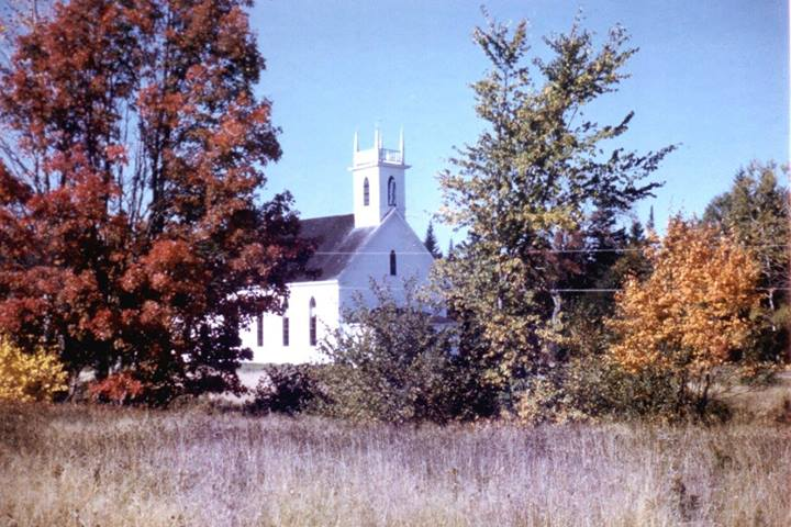 Salem - the covered bridges, and the church