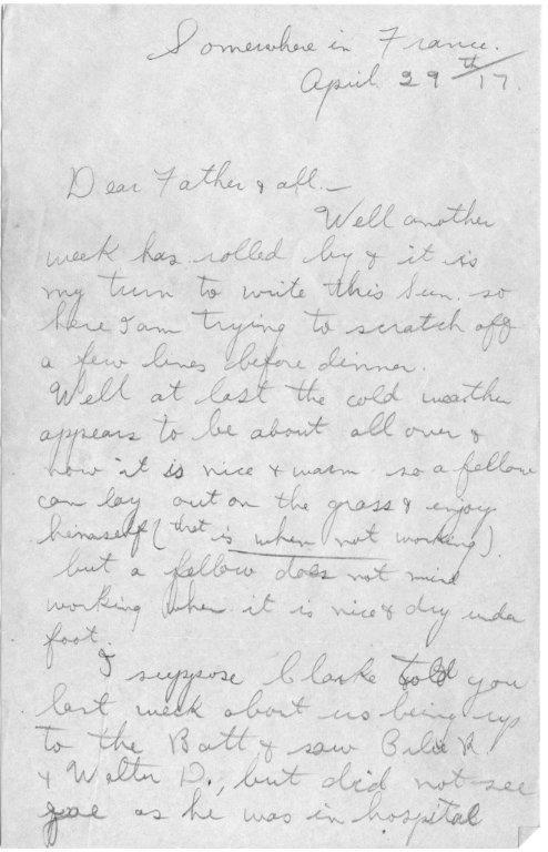 1917 April 29 Hugh letter pg1.jpg