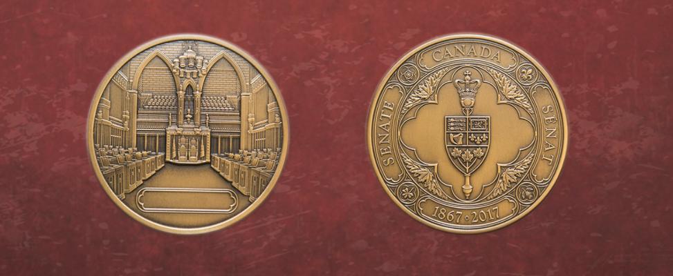 Senate of Canada Sesquicentennial Medal