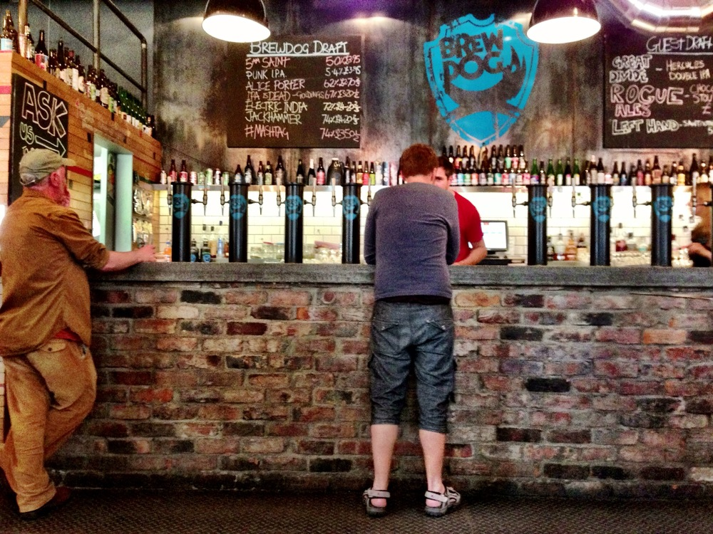 BrewDog in Edinburgh