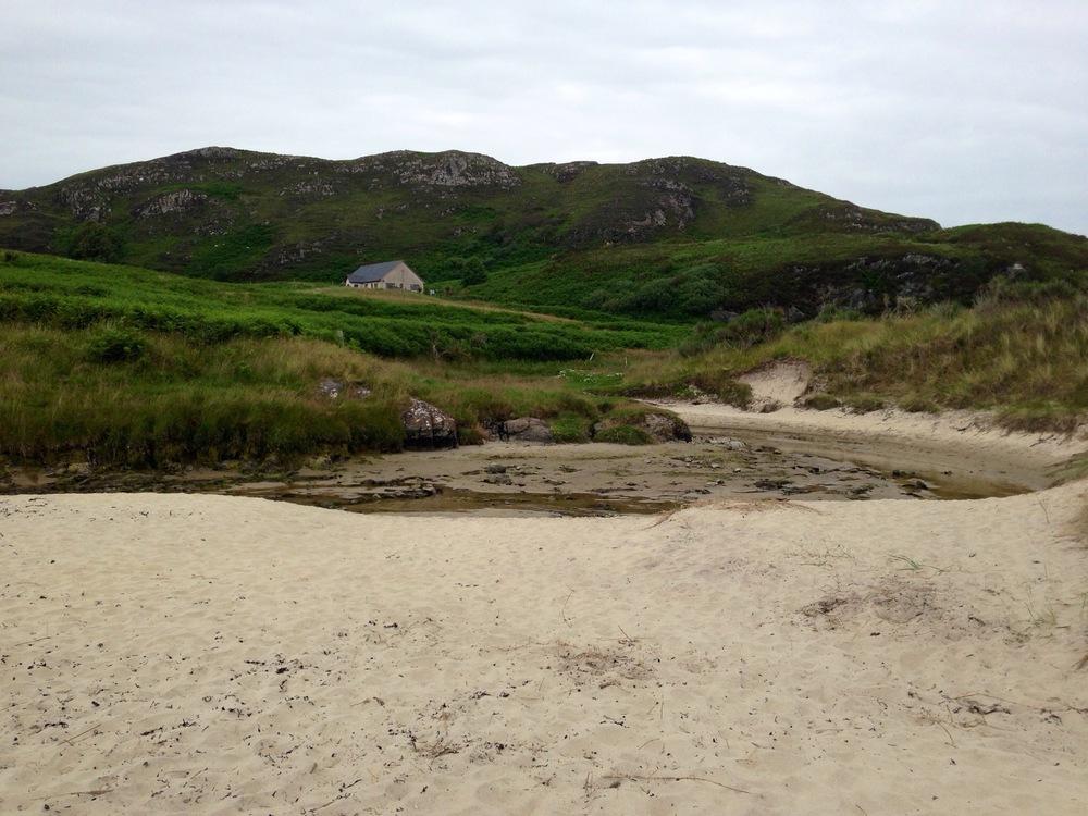 Beach near Portnaluchaig