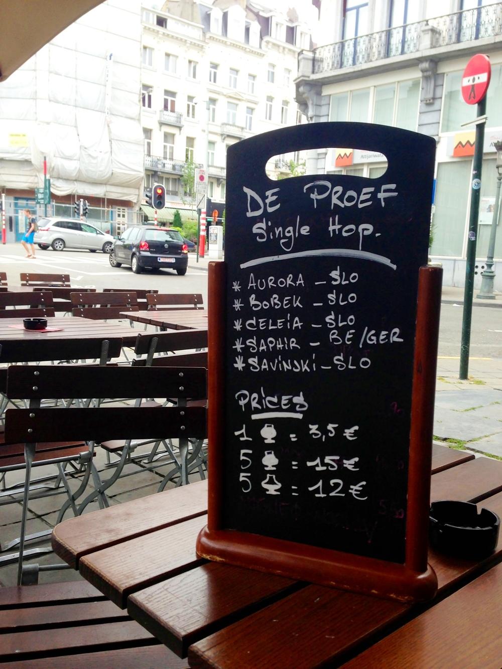 Moeder Lambic, Brussels