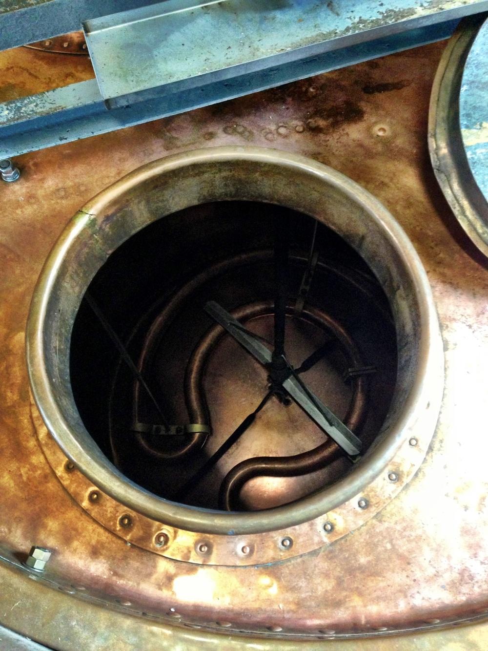 Boil kettle -Brasserie Cantillon Brouwerij