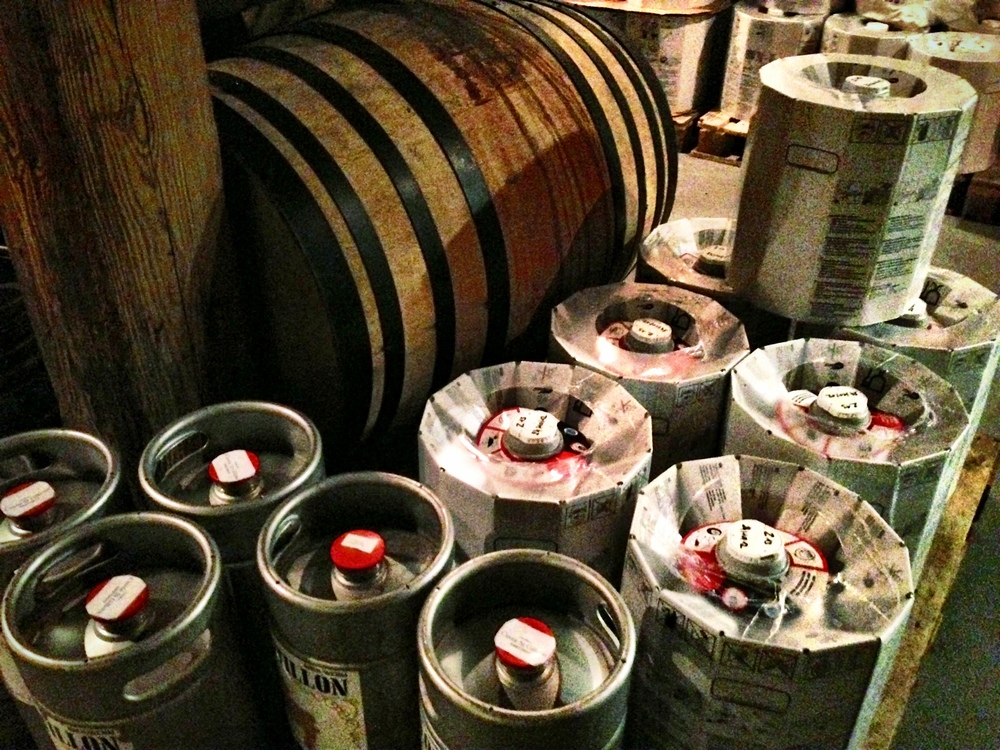Lots of bar would kill for these kegs! -  Brasserie Cantillon Brouwerij