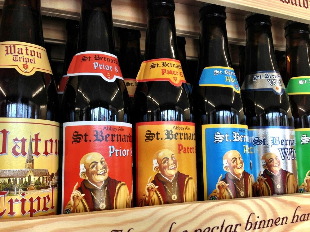 St. Bernardus brews