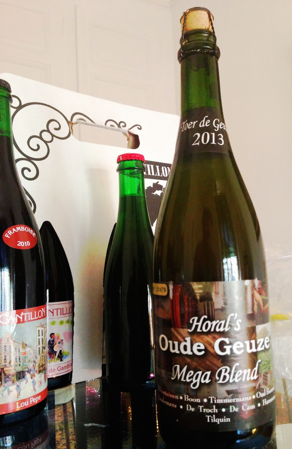 2013 Tour de Gueuze Horal's Oude Gueuze Mega Blend - bringing this one home!