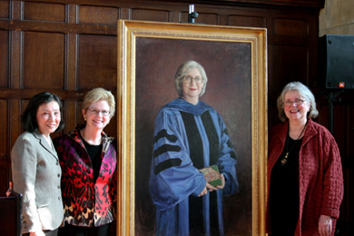 President Nancy Vickers' Portrait Unveiling