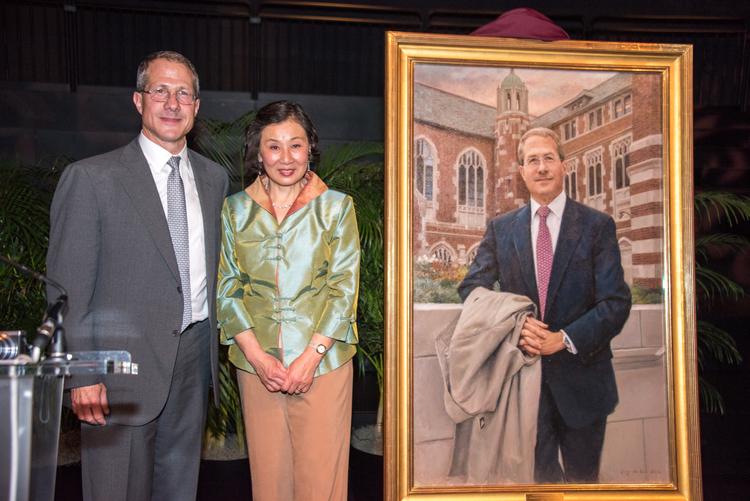 Andrew Michael Alper's Portrait Unveiling