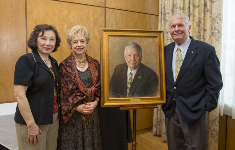 President F. Gregory Campbell's Portrait Unveiling