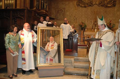 Reverend Andrew Foster's Portrait Unveiling