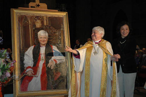 Bishop Catherine Roskam's Portrait Unveiling