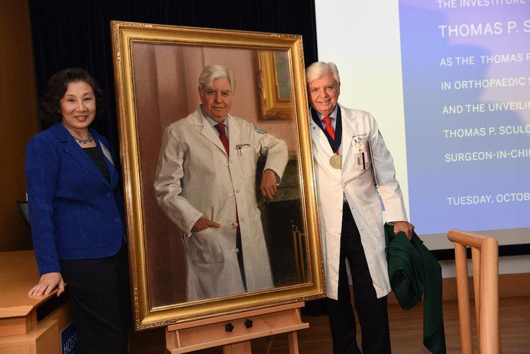 Dr. Thomas P. Sculco's Portrait Unveiling