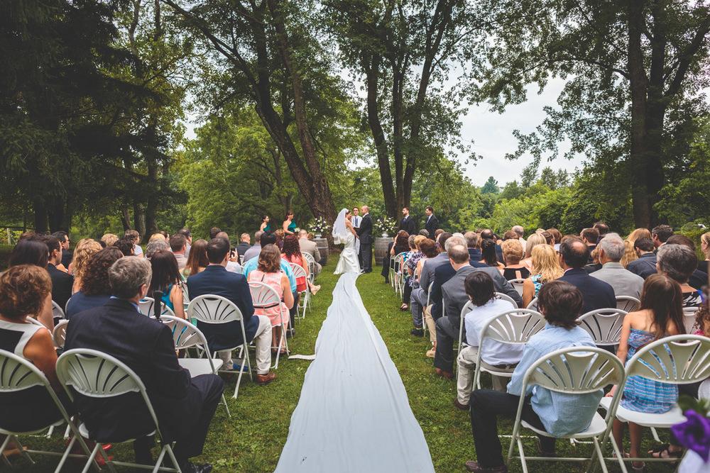 Unionville Wedding Ceremony