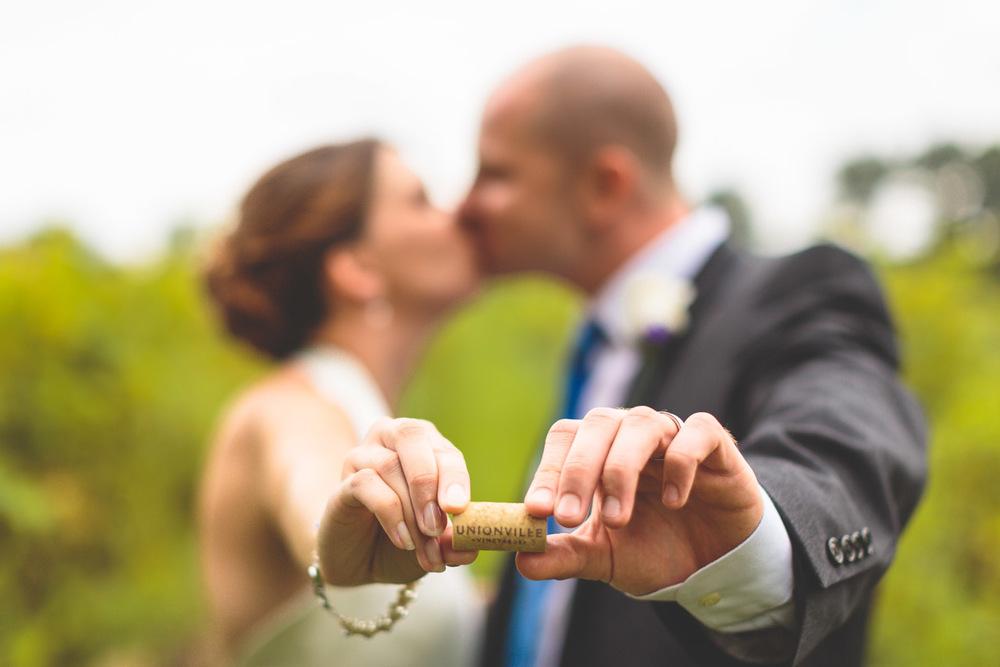 Wedding Unionville Winery NJ
