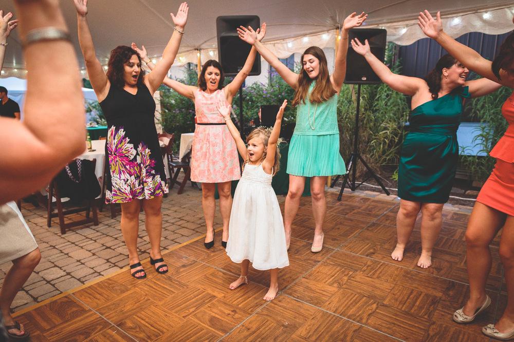 Wedding Reception Unionville Vineyard