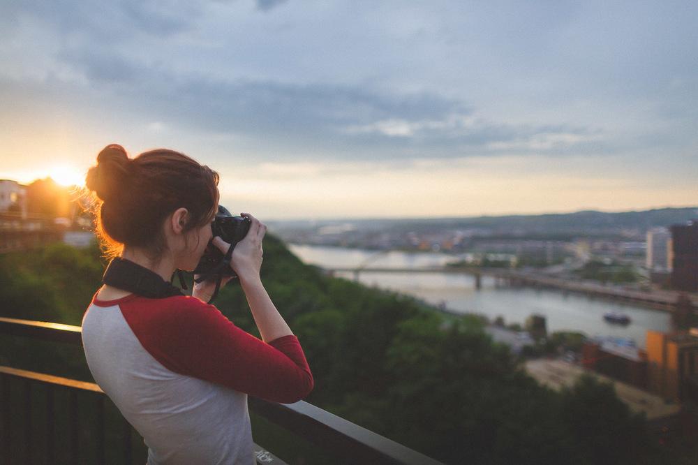 Sunset Pittsburgh PA