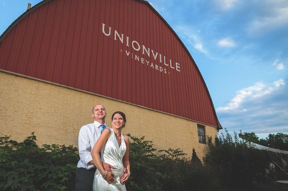 Wedding Unionville Vineyards