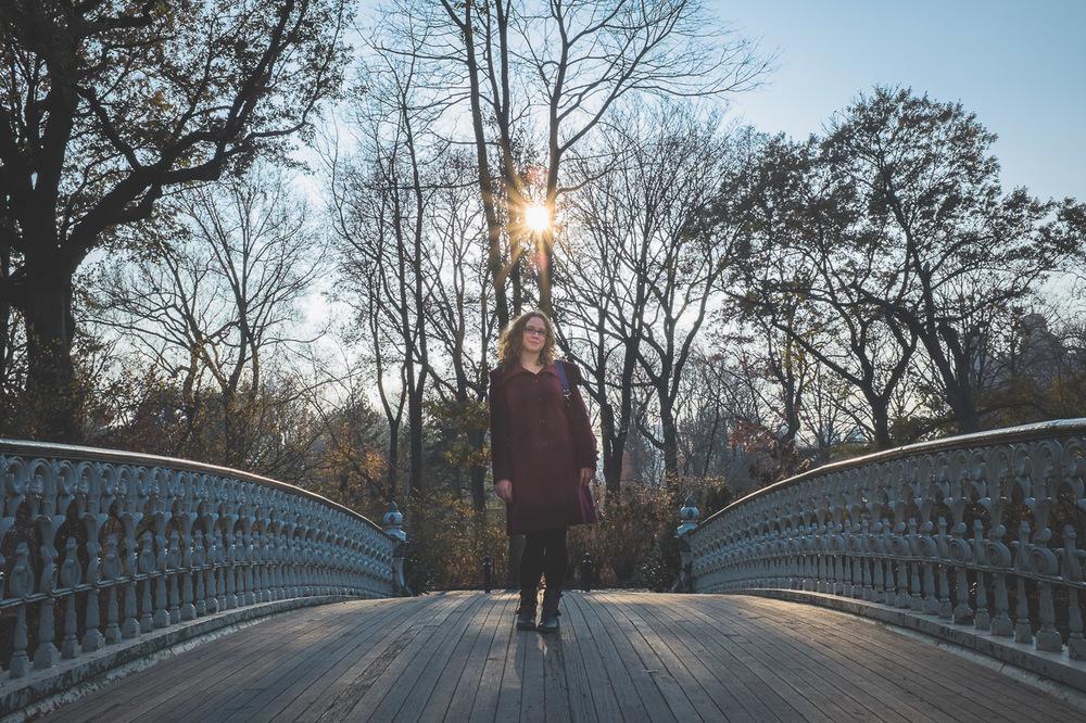 Portrait Central Park NYC