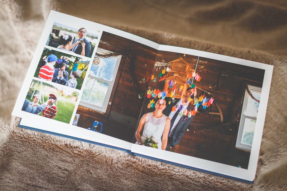 Wedding Album Spread