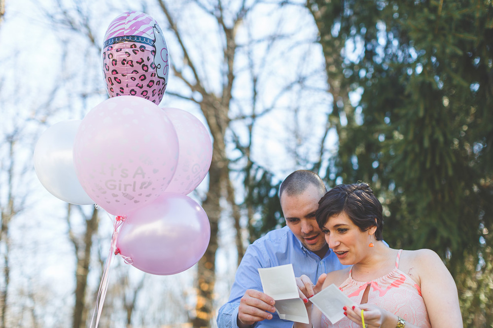 Gender Reveal Morristown NJ