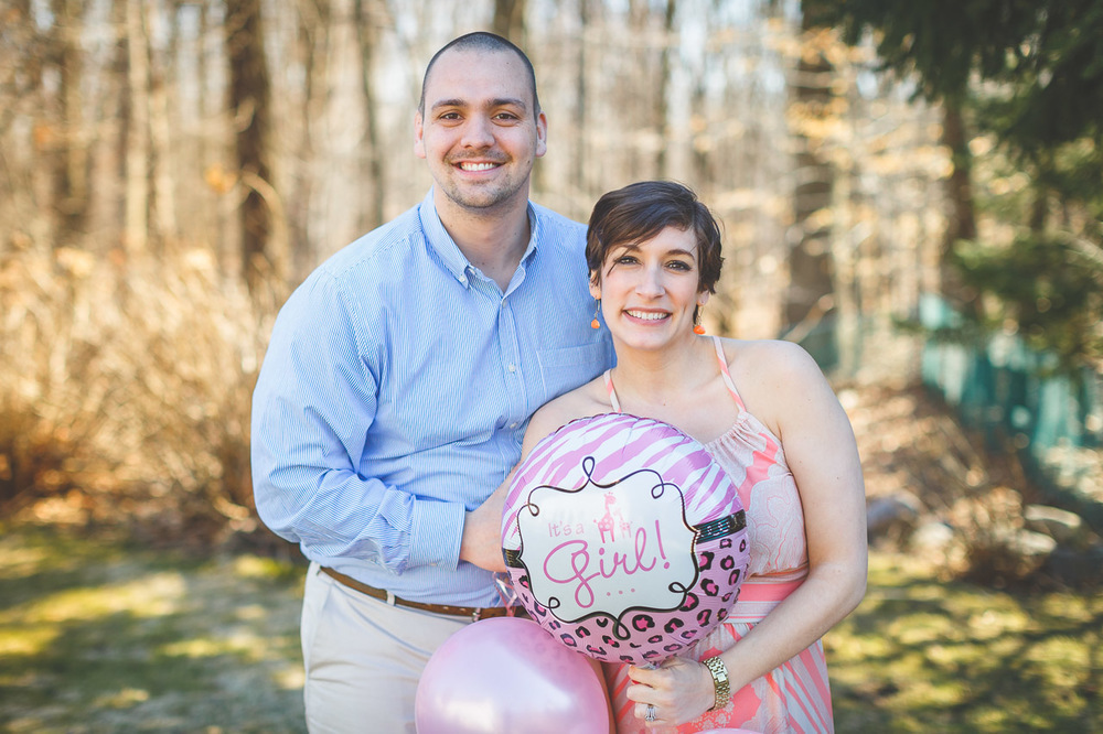 It's a girl! Gender Reveal Party