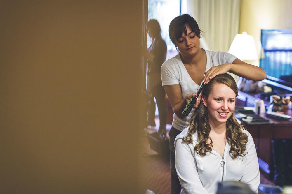 Bridal Prep Wedding