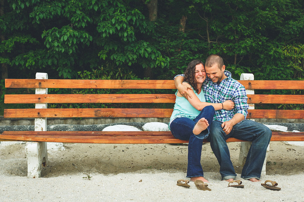 Cute Engagement Couple