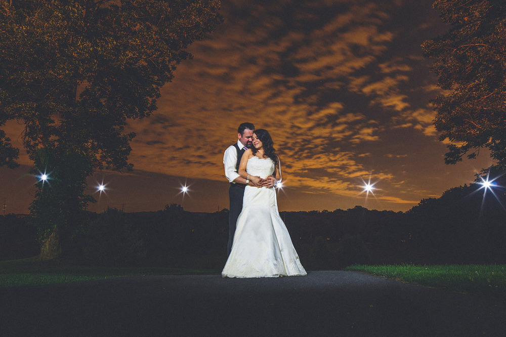 Creative Wedding Portrait Boonton NJ